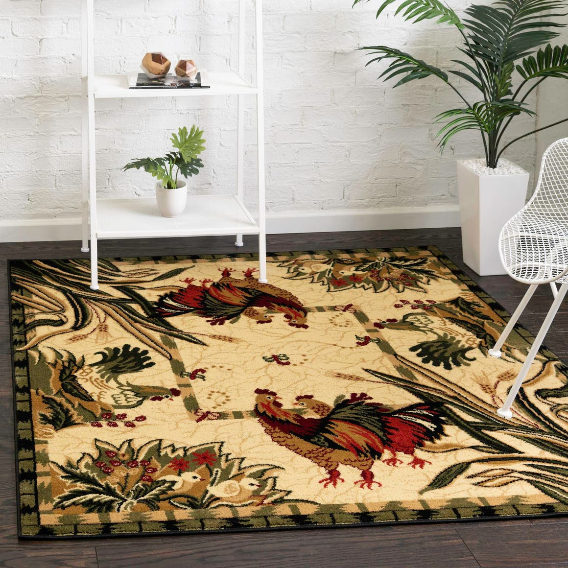 6' x 6' Country Square Rug main image