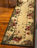 2' 7 x 10' Country Runner Rug thumbnail