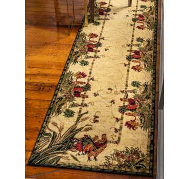 Image of 2' 7 x 10' Country Runner Rug