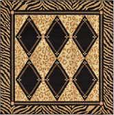 6' x 6' Safari Square Rug thumbnail
