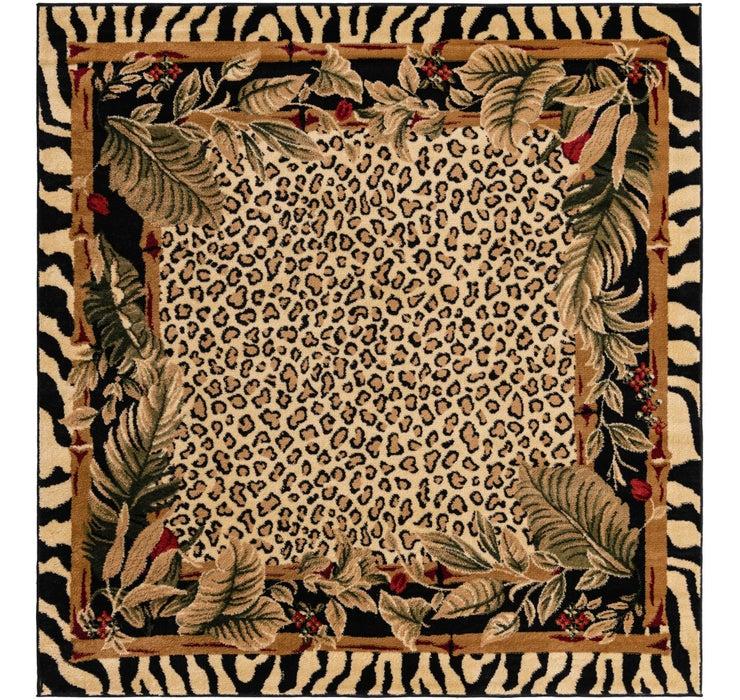 6' x 6' Safari Square Rug