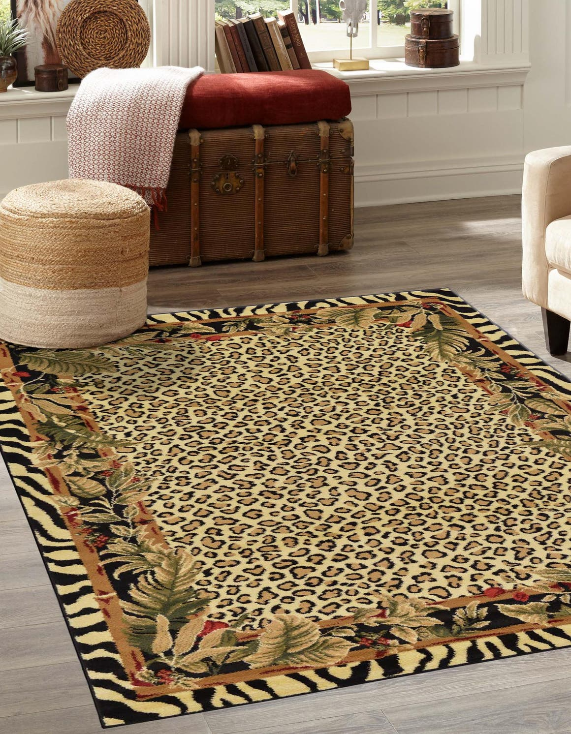 6' x 9' Safari Rug main image