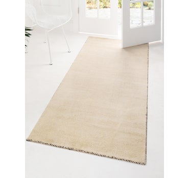 2' 7 x 16' 5 Solid Gabbeh Runner Rug main image