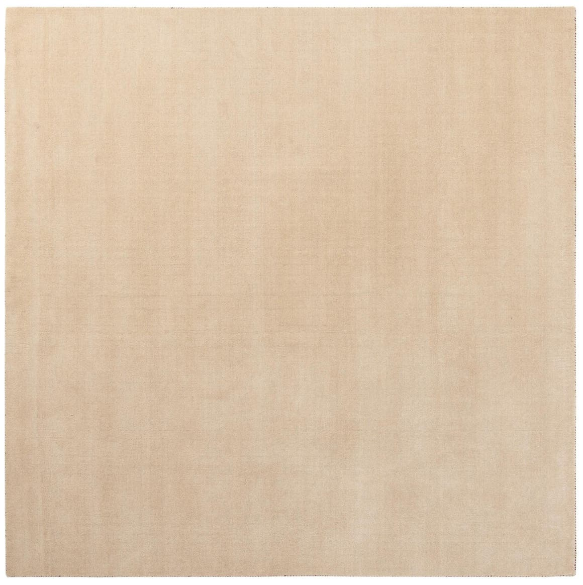 Beige  9' 10 x 9' 10 Solid Gabbeh Square