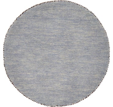 2' 4 x 2' 4 Solid Gabbeh Round Rug main image