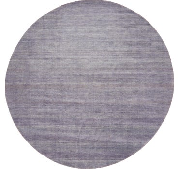 9' 10 x 9' 10 Solid Gabbeh Round Rug main image