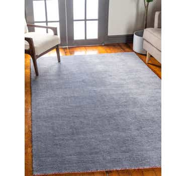 Image of 5' 3 x 7' 5 Solid Gabbeh Rug