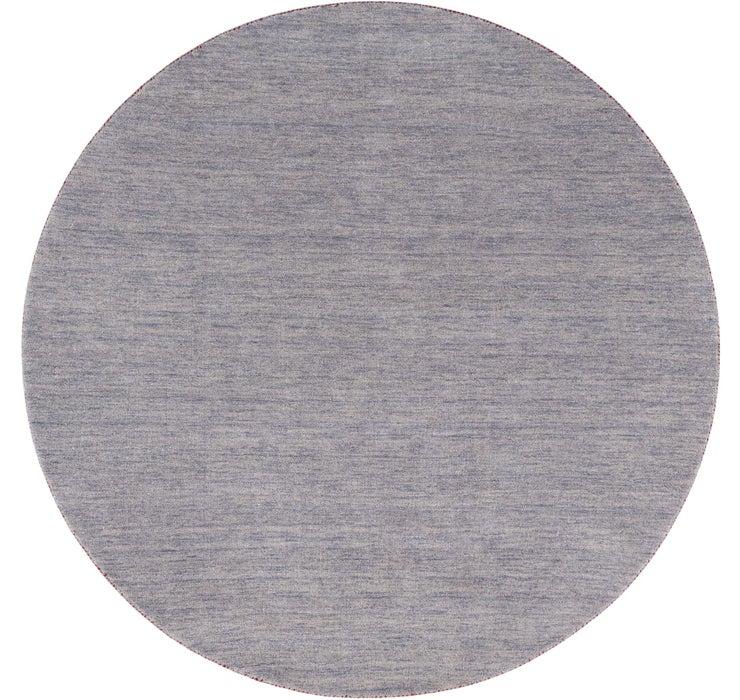 200cm x 200cm Solid Gabbeh Round Rug
