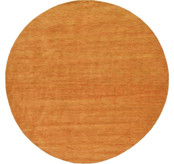 300cm x 300cm Solid Gabbeh Round Rug