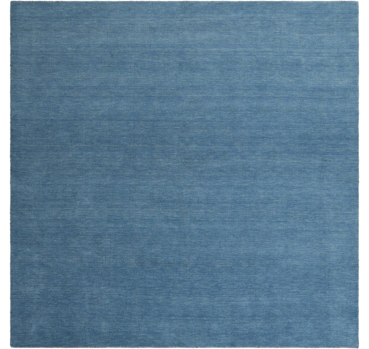 Image of 9' 10 x 9' 10 Solid Gabbeh Square Rug