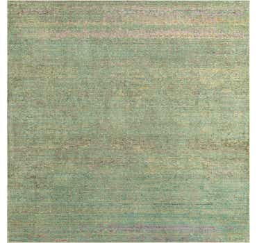 Image of  Green Alexis Square Rug