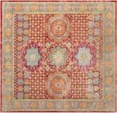 8' x 8' Aqua Square Rug thumbnail