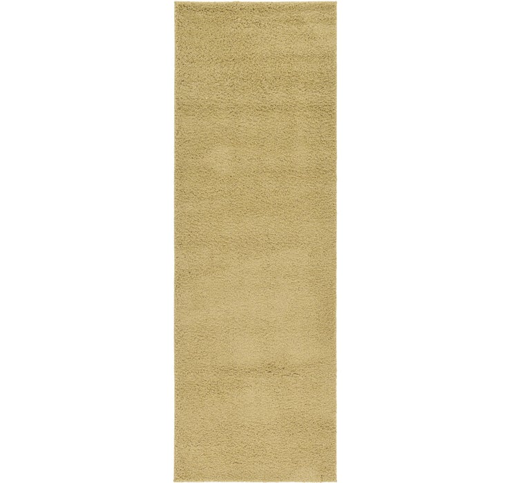 Image of 3' 3 x 9' 10 Solid Basic Runner Rug