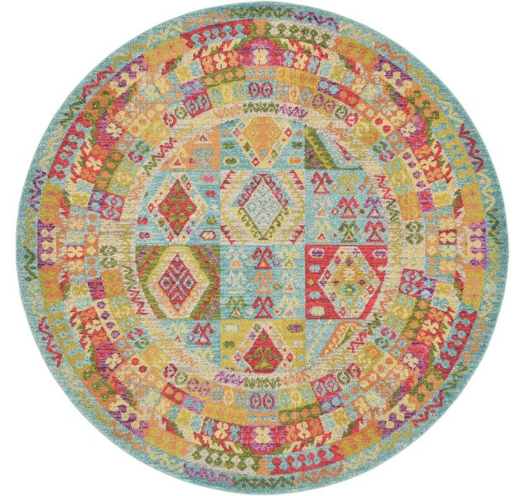 8' x 8' Santa Fe Round Rug