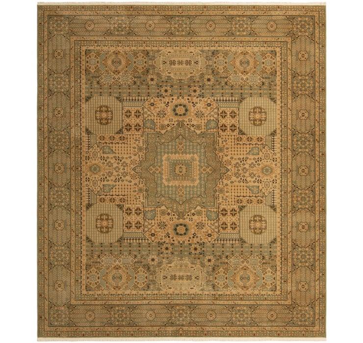 10' x 11' 4 Mamluk Square Rug