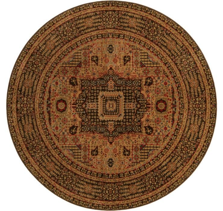 6' x 6' Mamluk Round Rug