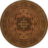 183cm x 183cm Mamluk Round Rug thumbnail