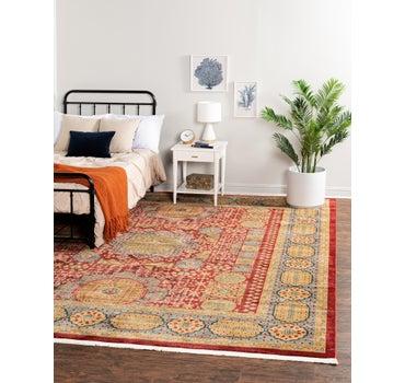 10' x 11' 4 Mamluk Square Rug main image