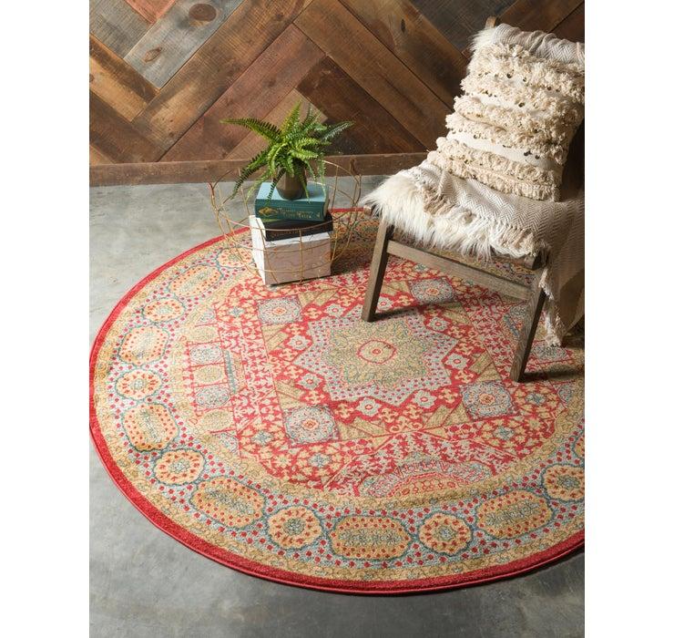 Image of 6' x 6' Mamluk Round Rug