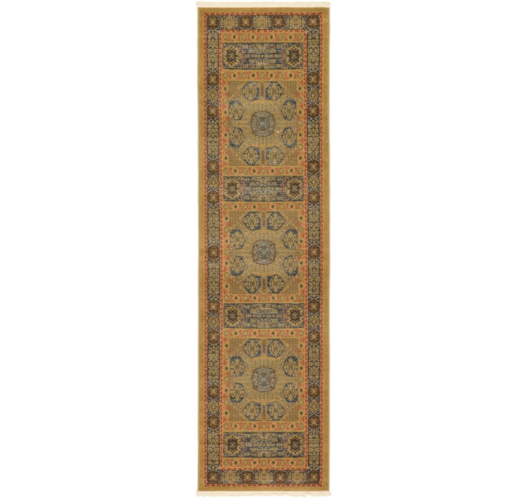 2' 7 x 10' Mamluk Runner Rug