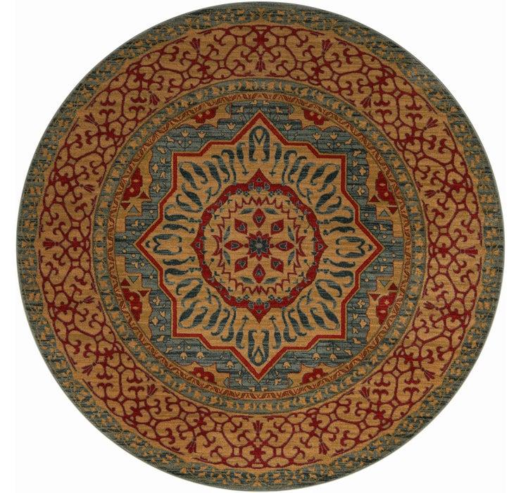 8' x 8' Mamluk Round Rug