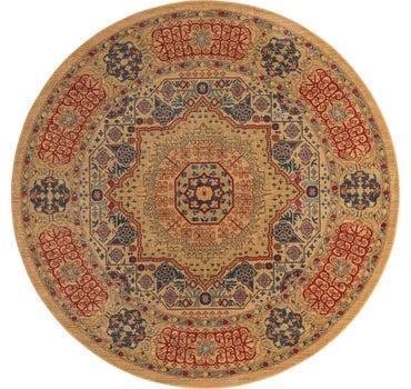8' x 8' Mamluk Round Rug main image