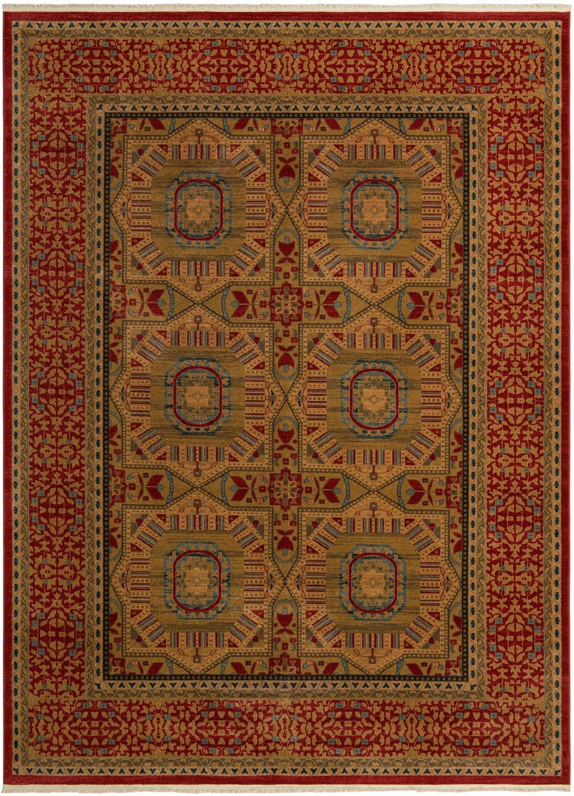 9' x 12' Mamluk Rug main image