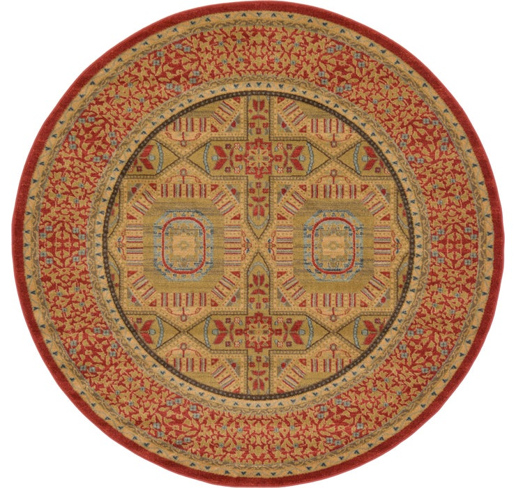 6' x 6' Amina Round Rug