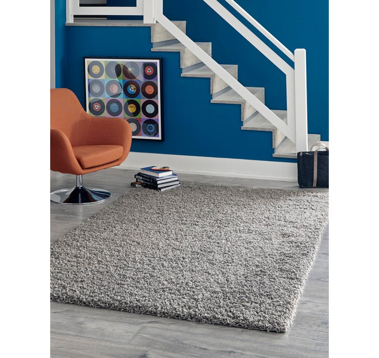 Image of 5' x 8' Solid Shag Rug