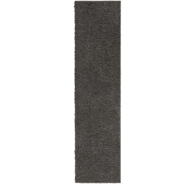 2' 6 x 10' Solid Shag Runner Rug
