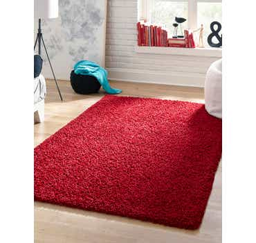 Image of Cherry Red Classic Rug