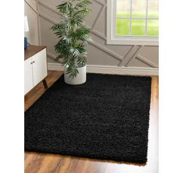 Image of 3' 3 x 5' 3 Solid Shag Rug