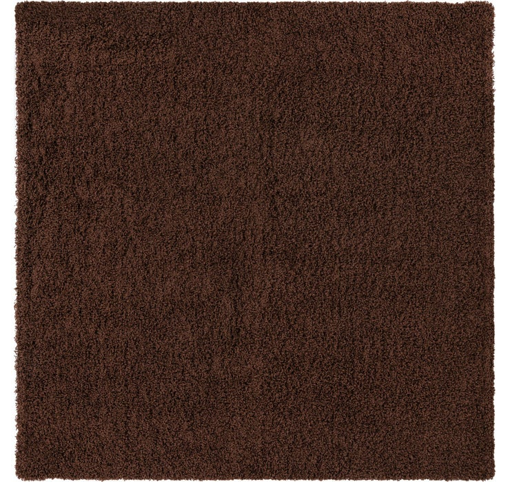 Image of 245cm x 245cm Solid Shag Square Rug