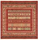 6' x 6' Kashkuli Gabbeh Square Rug thumbnail