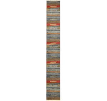 2' 7 x 20' Kashkuli Gabbeh Runner Rug main image