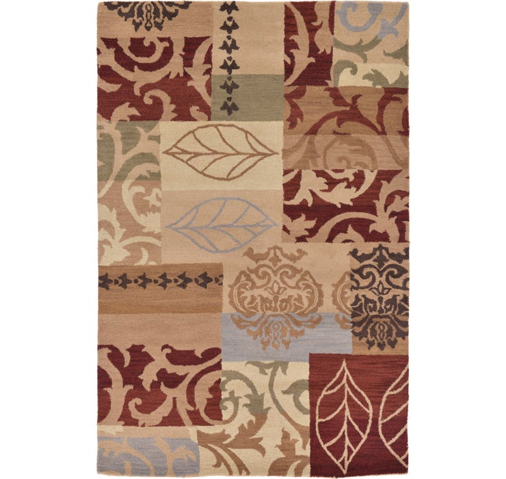 Image of 160cm x 240cm Patchwork Rug