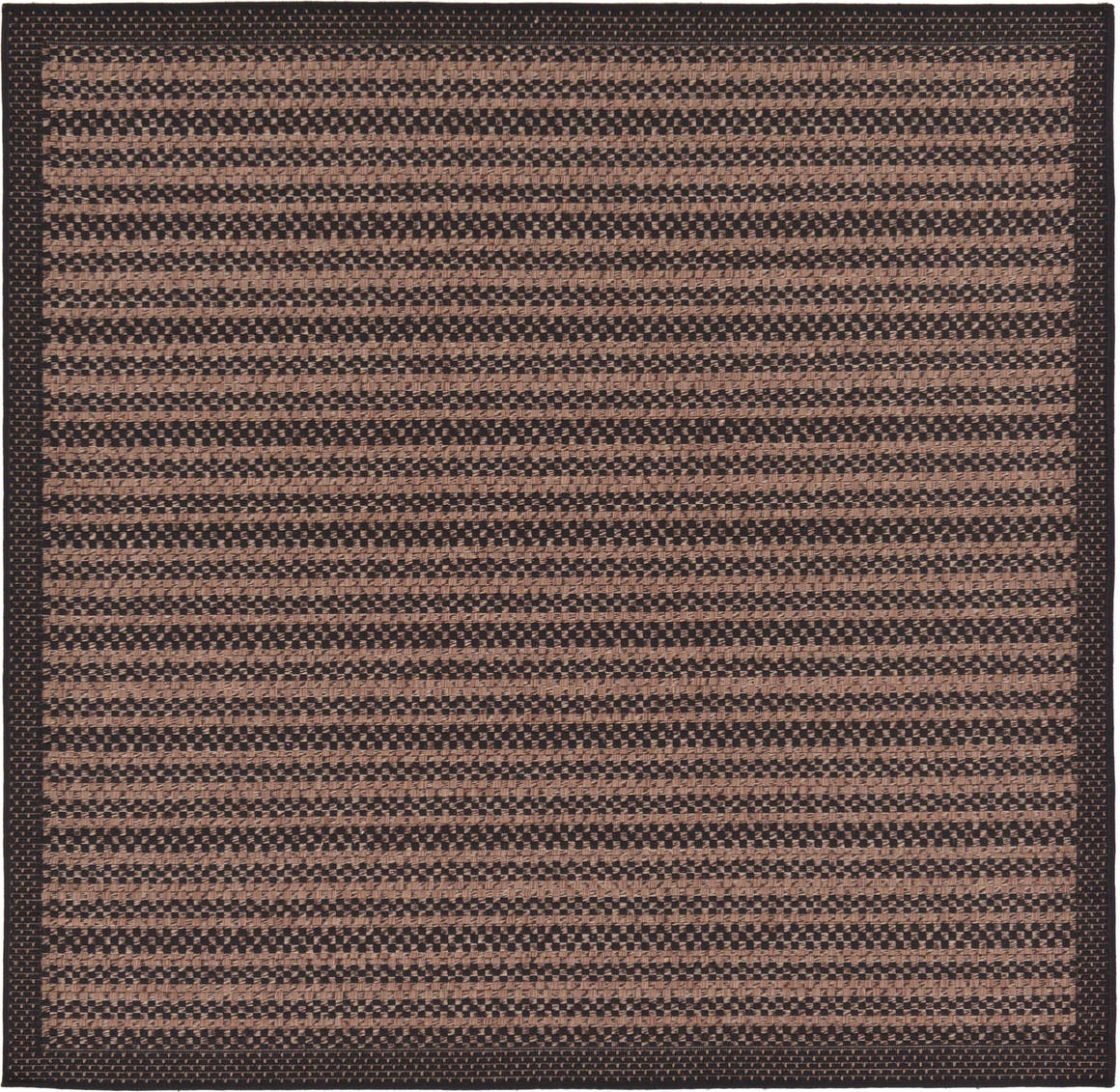 6' x 6' Outdoor Border Square Rug main image