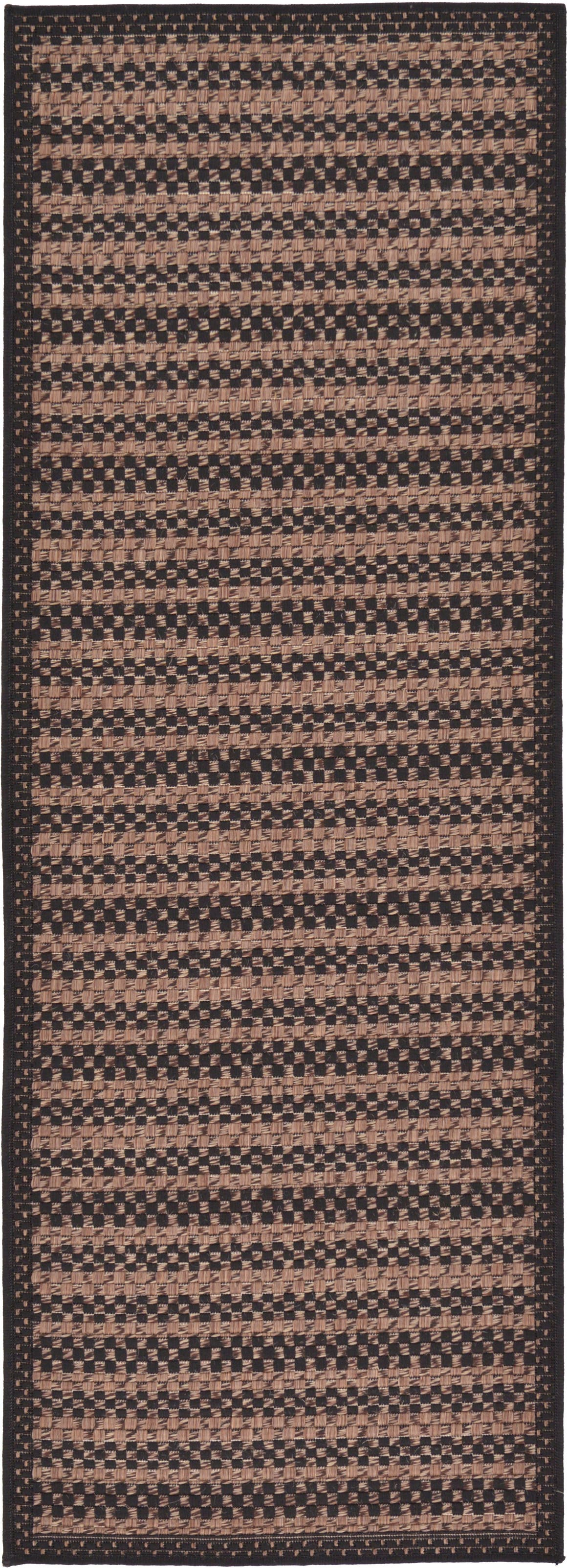 2' 2 x 6' Outdoor Border Runner Rug main image