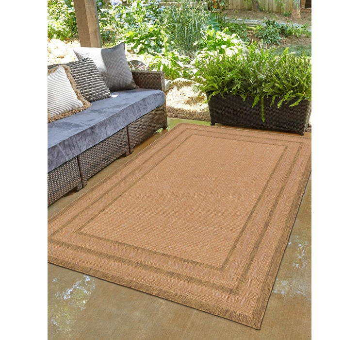 Image of 100cm x 152cm Outdoor Border Rug