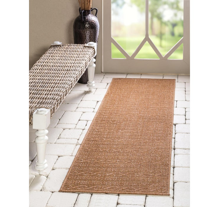 65cm x 183cm Outdoor Modern Runner Rug