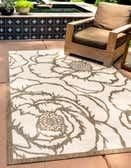 275cm x 365cm Outdoor Botanical Rug thumbnail image 1