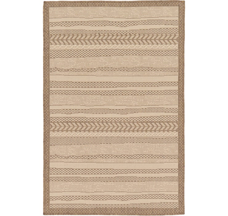 100cm x 152cm Outdoor Border Rug