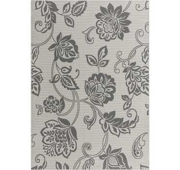 Image of  Gray Outdoor Botanical Rug