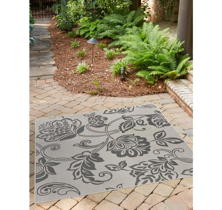 183cm x 183cm Outdoor Botanical Squar...