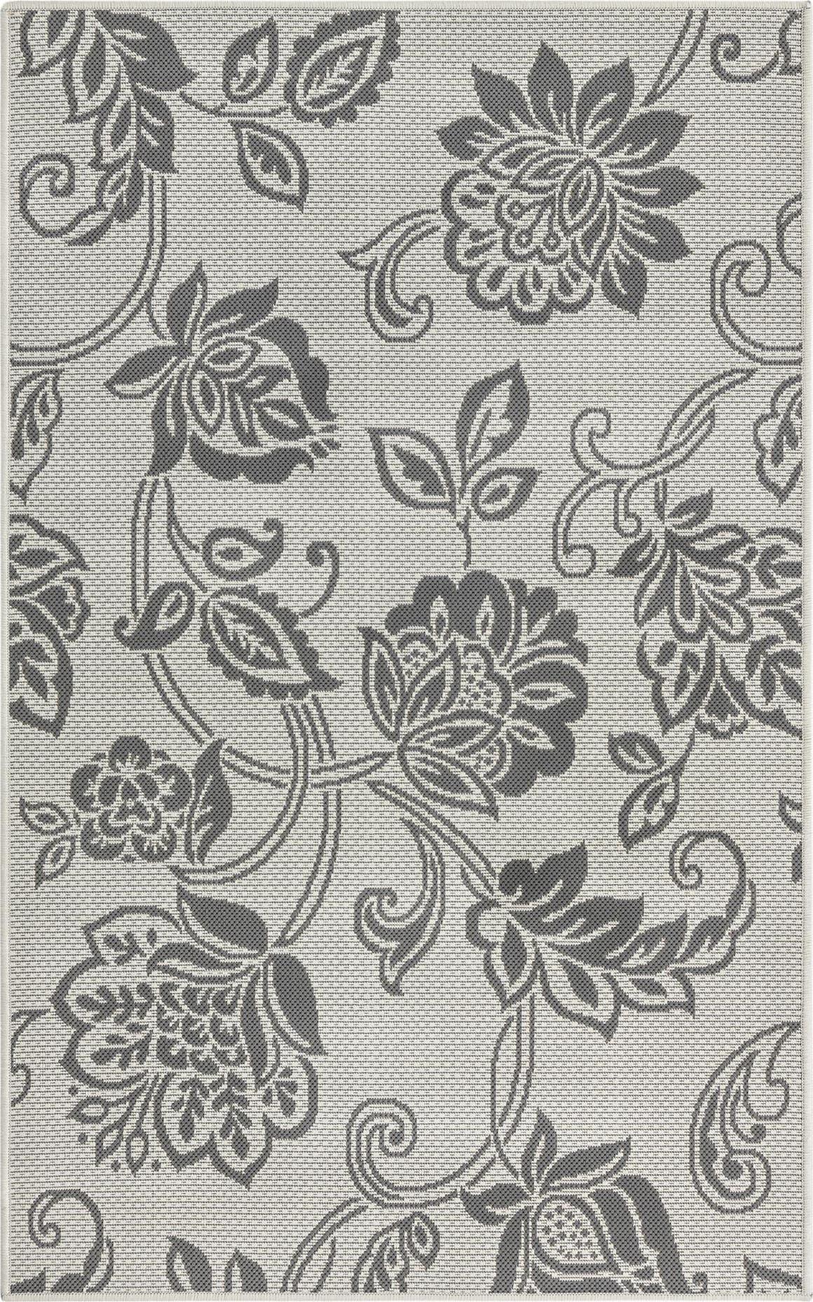 3' 3 x 5' Outdoor Botanical Rug main image