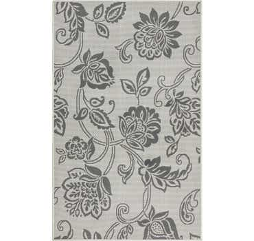 Image of  3' 3 x 5' Outdoor Botanical Rug