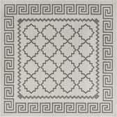 6' x 6' Outdoor Trellis Square Rug thumbnail