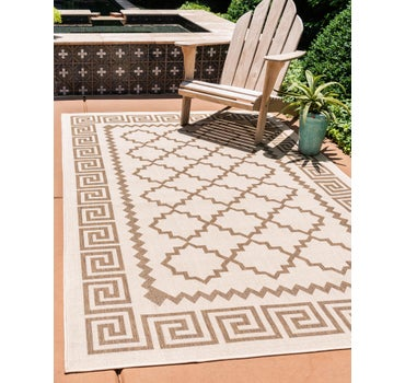 3' 3 x 5' Outdoor Trellis Rug main image