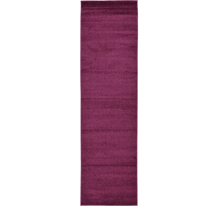80cm x 300cm Solid Basic Runner Rug