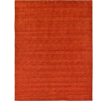 9' 10 x 13' Solid Gabbeh Rug main image